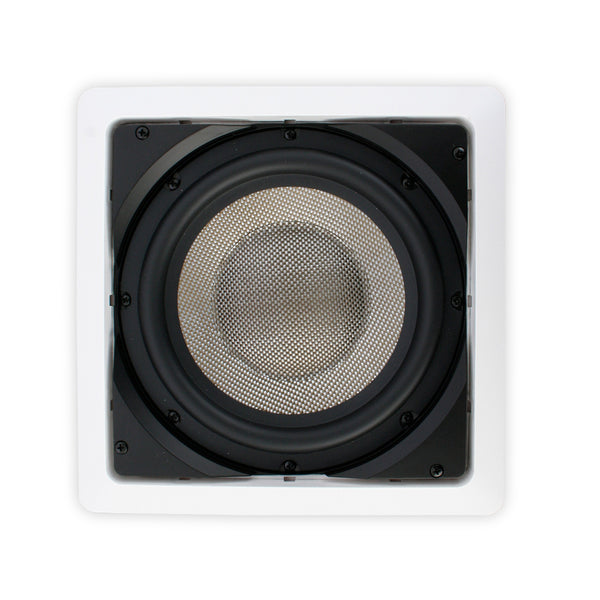"Episode® ES-SUB-IW-SNGL8 Passive In-Wall Subwoofer with Single 8"" Woofer"