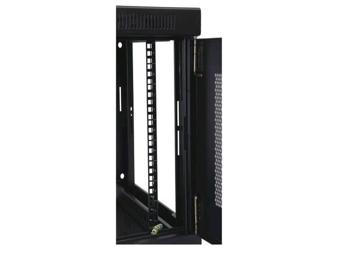 Tripp Lite SRW9U 9U Wall Mount Rack Enclosure Server Cabinet w/ Door & Side Panels