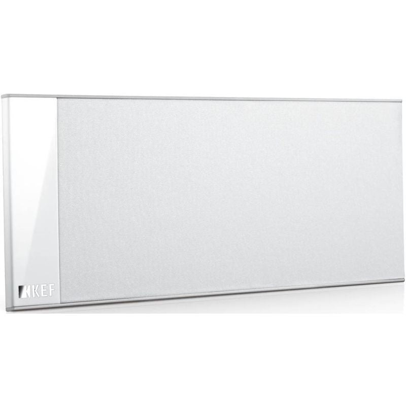 KEF T101C-WHITE UltraThin On-Wall Center Channel - White (Each)