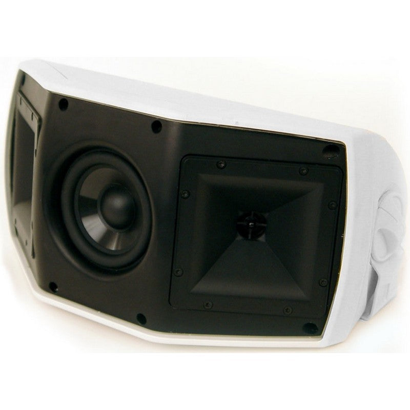 Klipsch AW-500-SM-WHITE Wide-Coverage All-Weather Loudspeaker White