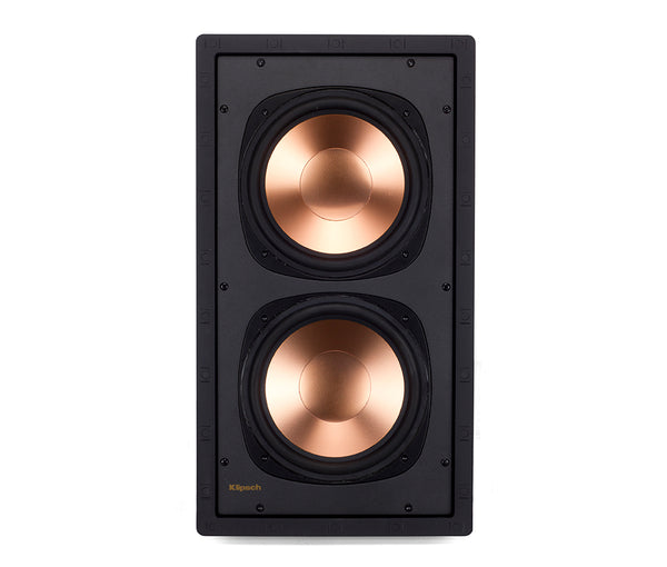 "Klipsch Reference Series RW-5802 II In-Wall Subwoofer - 8"" Drivers (Each) KLP-R-5802-IW-Sub-2"
