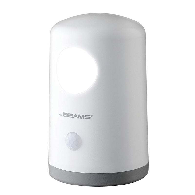 Mr. Beams® MB750-WHT-01-00 20 Lumen Stand Anywhere Motion Detector Night Light (White)
