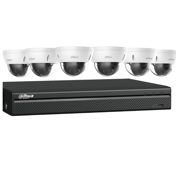 Dahua N588D63S 4K Starlight Network Security System