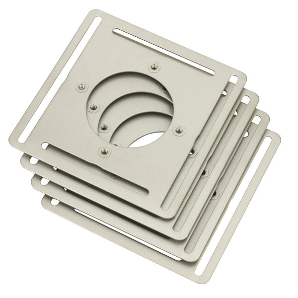 Nest T4007EF Steel Wall Plate Adapter for Nest Thermostat (4 pack)