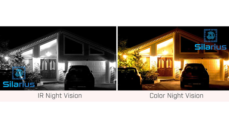 Silarius SIL-HD4MPNC6 High Dome 4MP IP67 Night Color, 2-way Audio - 6mm lens