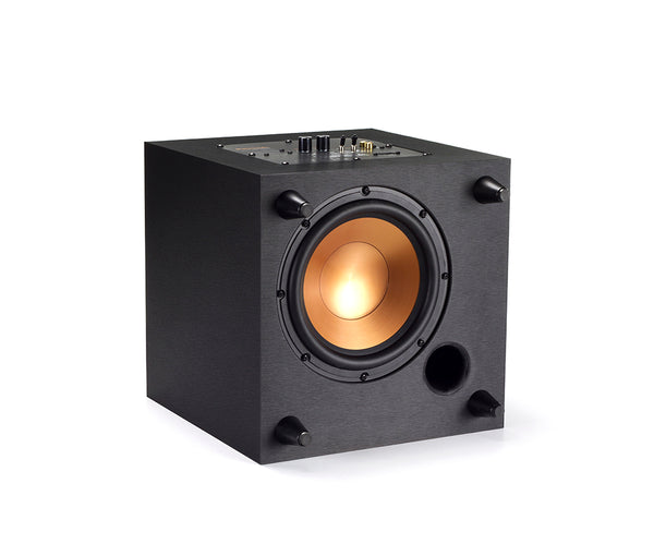 Klipsch® R-8SW-BLACK-BRUSHED-VINYL Down Firing Reference Series Subwoofer