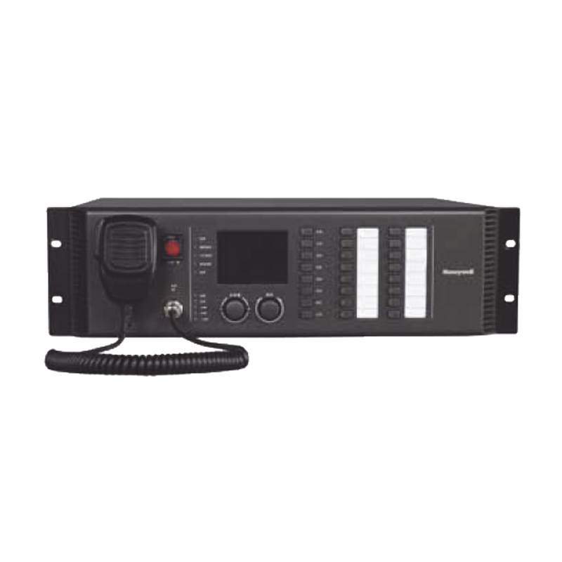 Honeywell RK-MCU Master Control Unit, Built-In 8 Loudspeaker Line Selector, 500W High Efficiency Class-D Power Amplifier