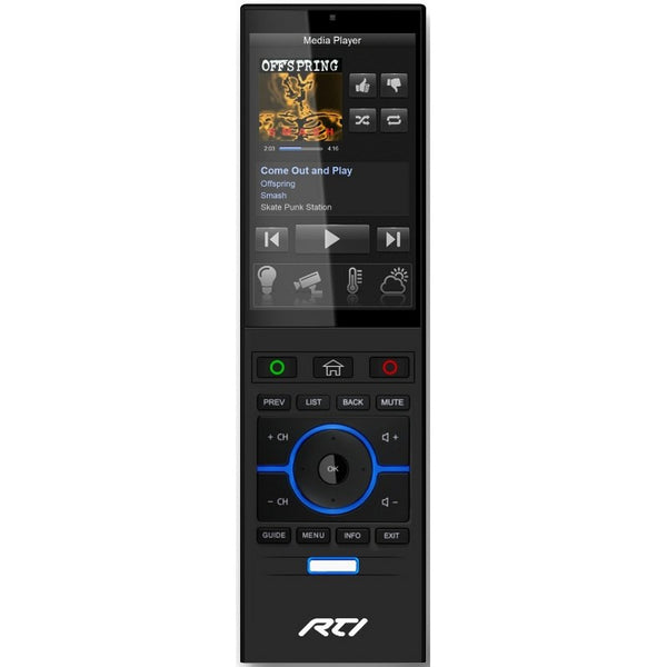 "RTI T4X Handheld System Controller with 4"" Color Touchscreen LCD"