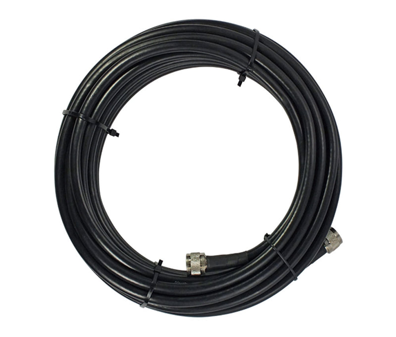 SureCall SC-001-75 SC400 Ultra Low Loss Coaxial Cable with N-Male Connectors - 75'