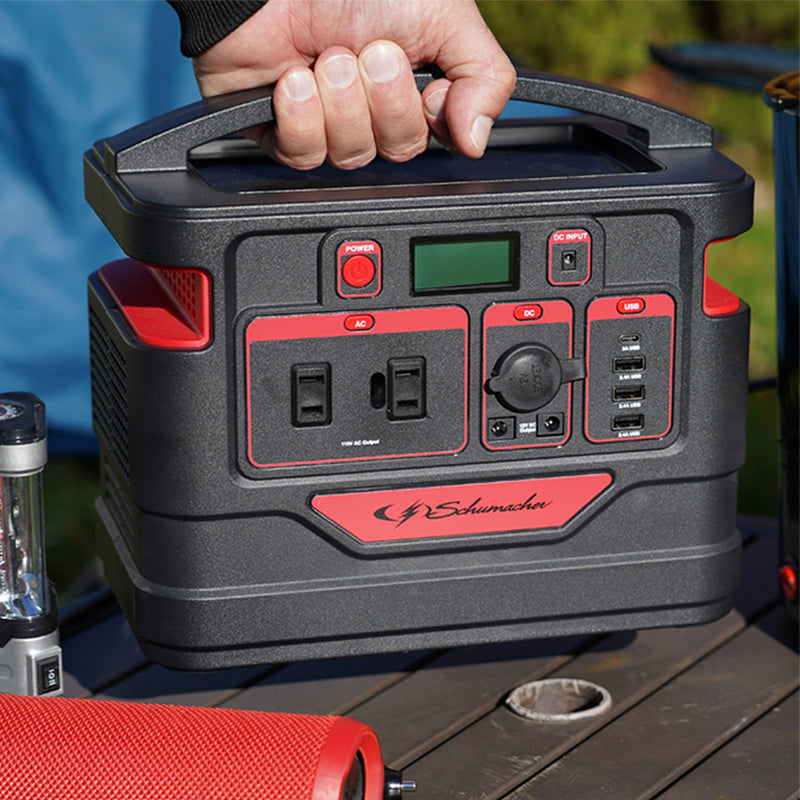 Schumacher SL1460 330-Wh Portable Power Generator with Rechargeable Battery