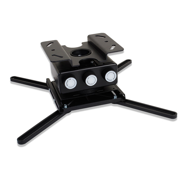 Strong™ SM-PROJ-XL-BLK Universal Fine Adjust Projector Mounts for Projectors up to 50 lbs. Black