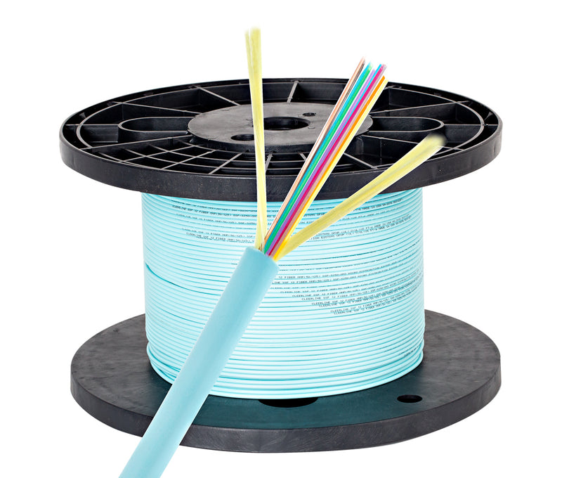 Cleerline 12D50125MOM3P Micro Distribution Fiber Optic Cable - 1000 Ft