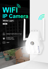 Silarius SIL-LIGHTSWIFI2MP28 WiFi, APP enabled, fixed, 2MP full HD, Alarm lights, Outdoor camera, 2-Way Audio - 2.8mm lens