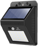 Silarius SIL-SOLARMOTION55 IP65 Solar PIR Motion detect light w Solar panel: 5.5V 100ma 0.55W