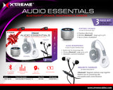 Xtreme XBS9-1058-SIL Audio Essentials Gift Set- The Ultimate Gift For Everyone!