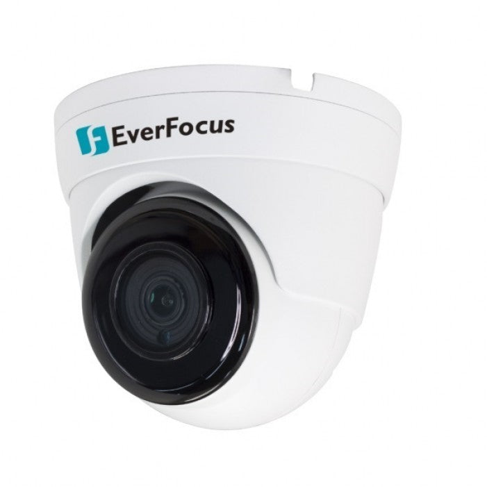 EverFocus EBN1240-A 2 Megapixel Outdoor IR Ball Network Camera, 3.6mm Lens