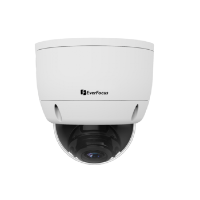 EverFocus EHA1280 1080p HD-AHD, HD-TVI, HD-CVI, Analog IR Dome Camera, 2.8-12mm Lens