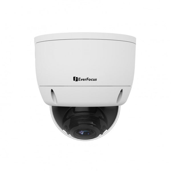 Everfocus EHA2880 8 Megapixel True Day/Night Outdoor IR Dome Camera, 3.6-11mm Lens