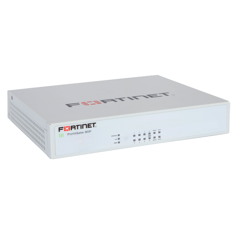 Fortinet FG-80F-BDL-950-36 FortiGate-80F Hardware plus 24x7 FortiCare and FortiGuard Unified Threat Protection (UTP) - 3 Year