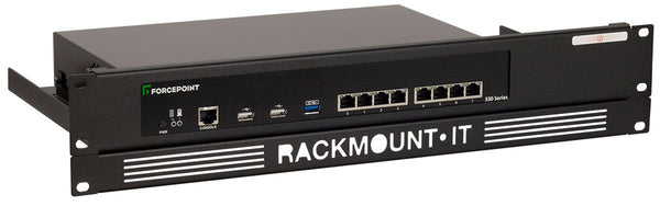 Rackmount.IT RM-FP-T2 Rack Mount Kit for Forcepoint NGFW N330 / NGFW N331