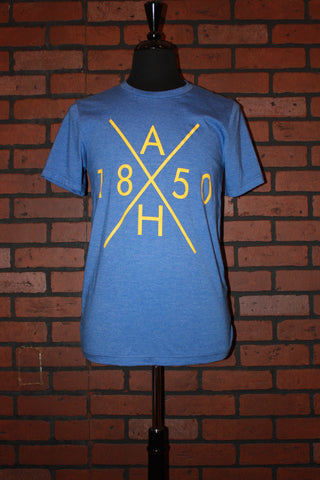 AH 1850 SHOP TEE - warriors blue