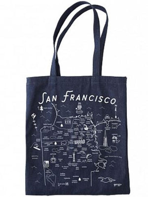 SF DENIM TOTE