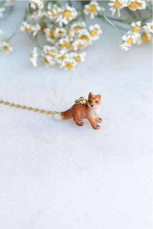 CERAMIC FOXY MAMA NECKLACE