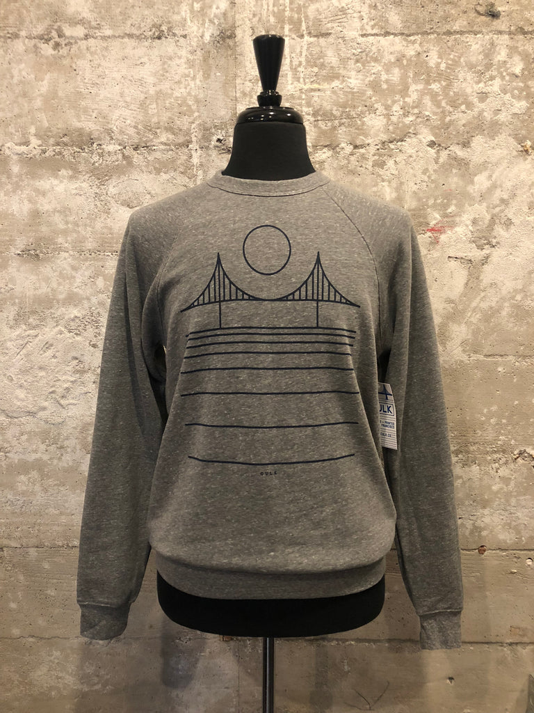 MINIMAL BRIDGE FLEECE - grey