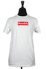 AH BOX LOGO SHOP TEE- white