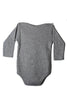 TINY KNIT ONESIE - Grey
