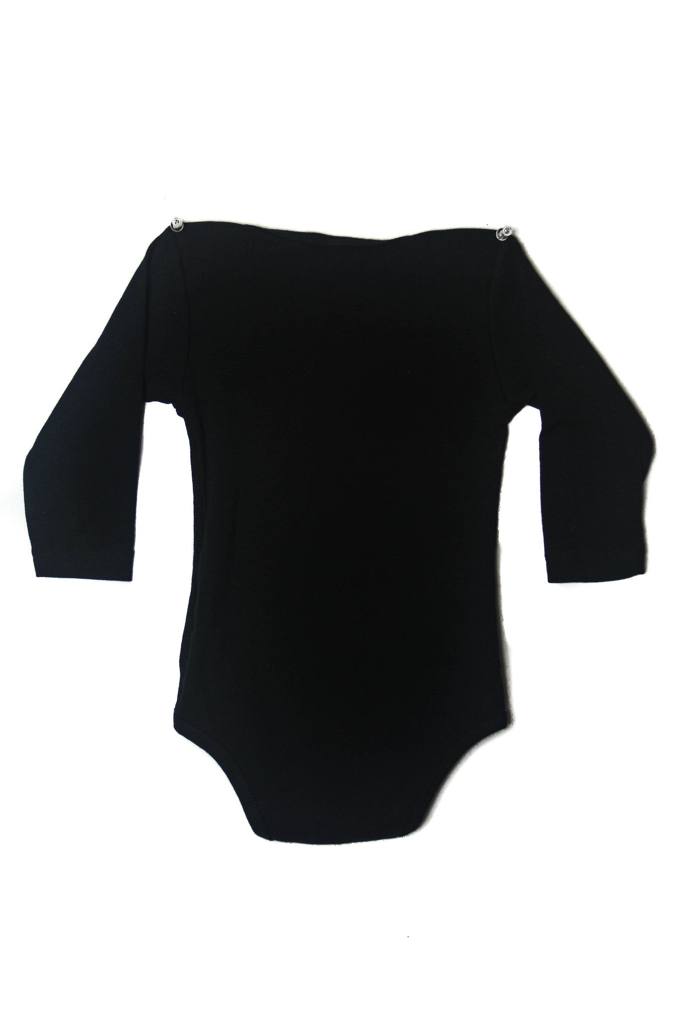 TINY KNIT ONESIE - Black