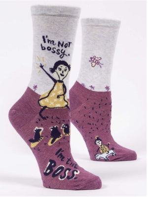 I'M NOT BOSSY W SOCK