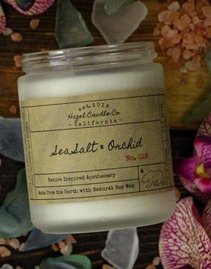 SEASALT ORCHID SOY CANDLE - 7.5 oz