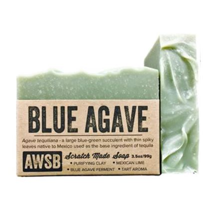 BLUE AGAVE SOAP - 3.5 oz