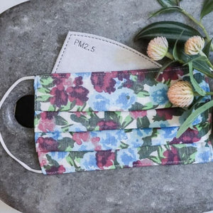FIFI FLORAL FACE COVERING