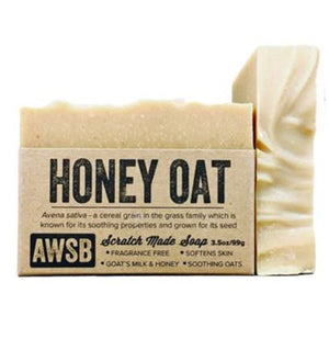 HONEY OAT SOAP - 3.5 oz