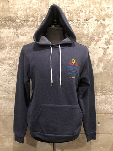 FILIPINX BRIDGE HOODIE - AH EXCLUSIVE (Pull-over Hoodie) - navy