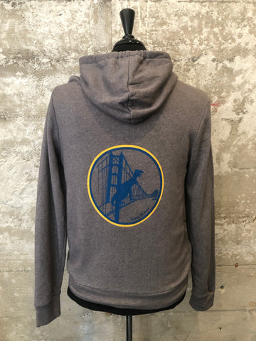 WARRIORS HOODIE GREY