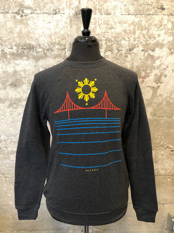FILIPINX BRIDGE FLEECE - AH EXCLUSIVE (charcoal)