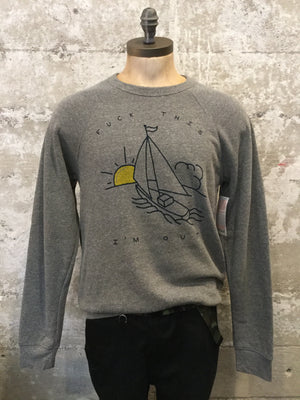 SAILBOAT CREWNECK
