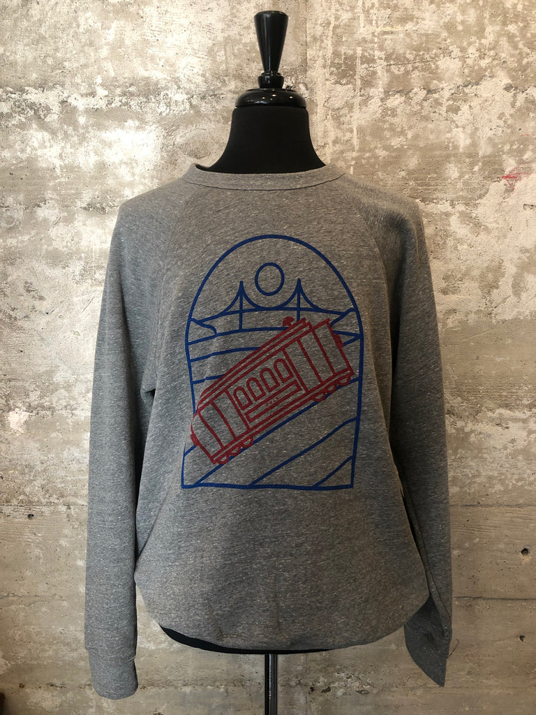 CABLECAR FLEECE CREWNECK