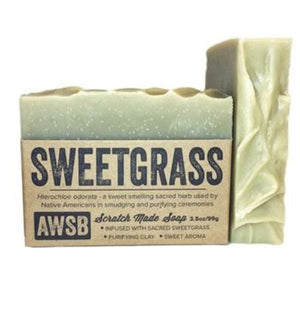 SWEET GRASS SOAP - 3.5 oz