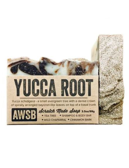 YUCCA ROOT SHAMPOO & BODY SOAP - 3.5 oz