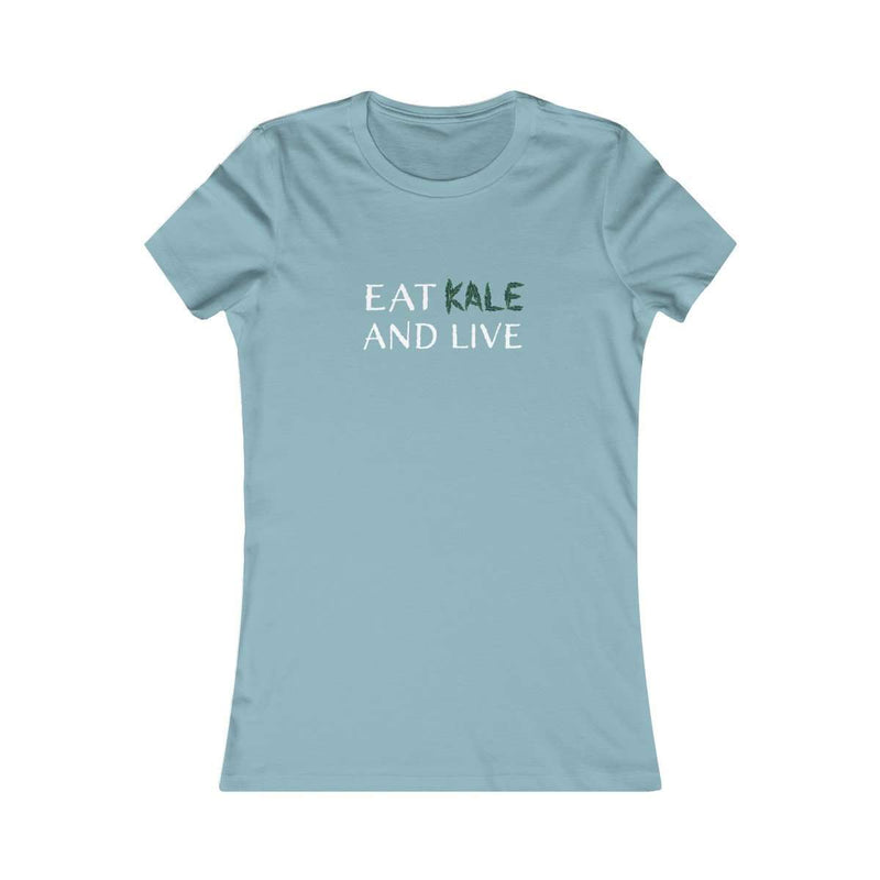 Eat Kale and Live Tee - Rising Vegans