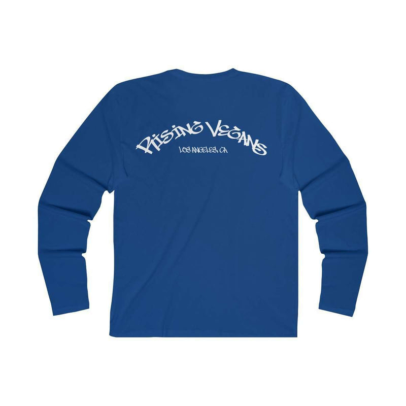 Men's Rising Vegans Long Sleeve Tee - Rising Vegans
