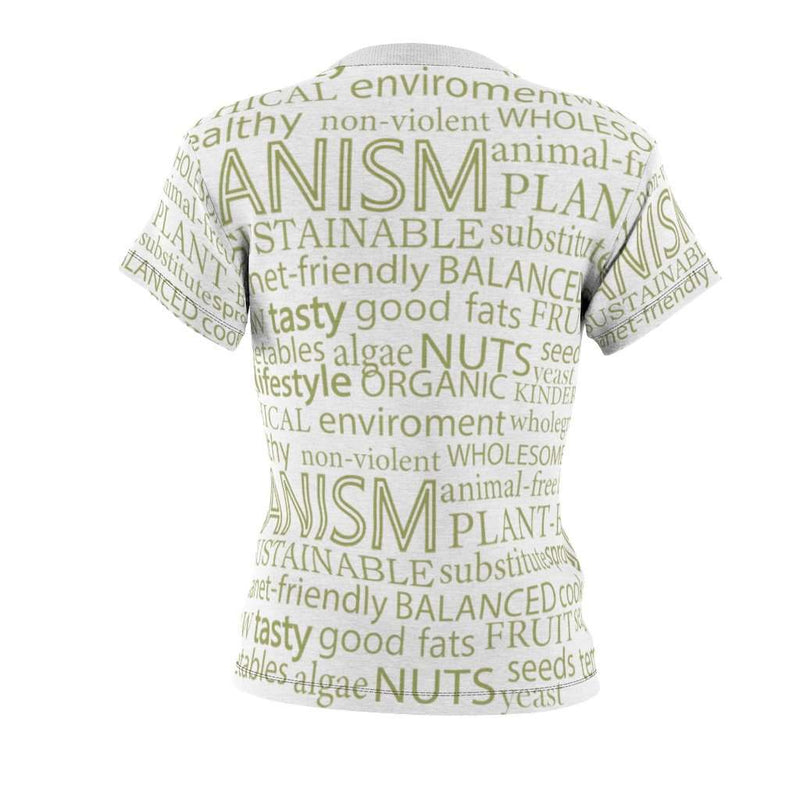 Veganism All Over Women's T-Shirt - Rising Vegans