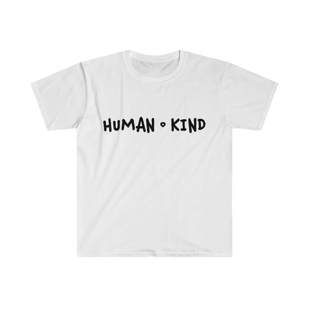 Men's Human Kind Fitted Tee - Rising Vegans
