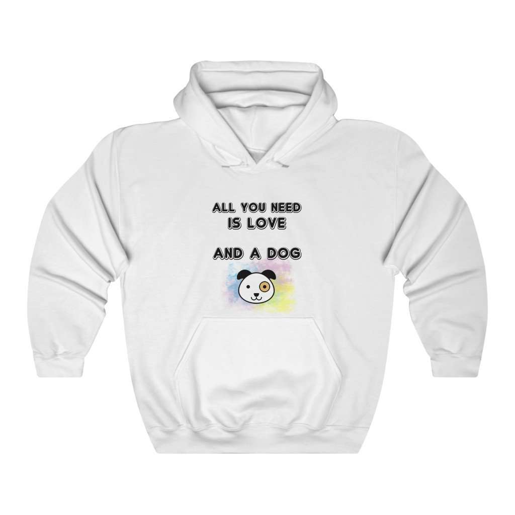 All You Need Is Love & A Dog Hoodie - Rising Vegans
