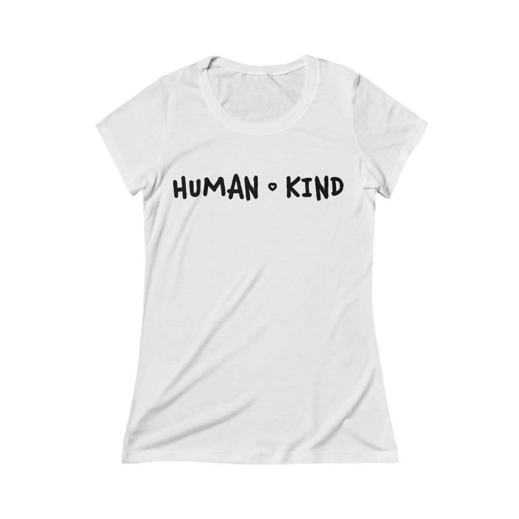 Human Kind Relaxed Fit Tee - Rising Vegans
