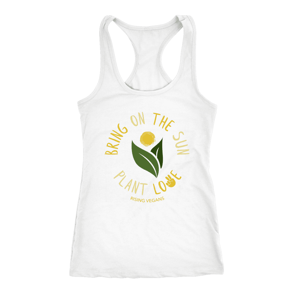 Bring on the Sun Tank Top - Rising Vegans